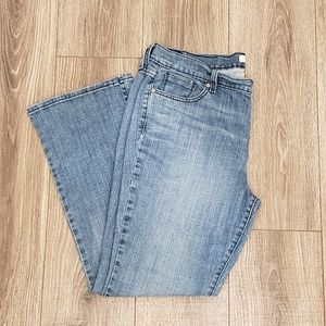 Levi's 515 Boot Cut High Waisted Jeans